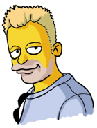Randolf Jorberg als Simpsons Bild