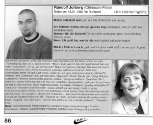 randolf jorberg abibuch 2001